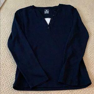 Jones New York's for navy T-shirt.